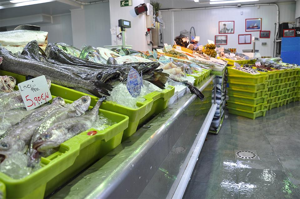 Pescadería en Santoña